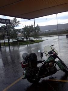 24 Sturgis 2014 Waiting out Storm 450x