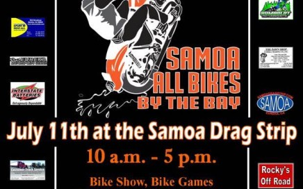 Samoa All Bikes by the Bay 2015 poster