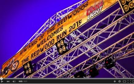 Video: 2015 Redwood Run Bad Bikes, Bands, Burnouts and Wheelies