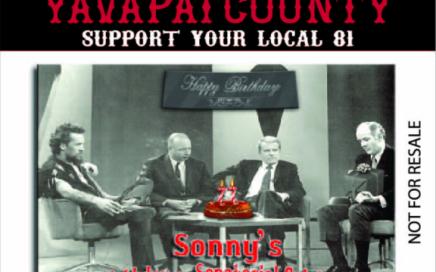 Sonny Barger's 77th Birthday Poker Run 2015