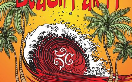 HAMC Cave Creek Beach Party 2016 poster